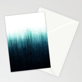 Teal Ombré Stationery Cards