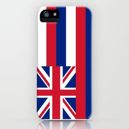 flag of hawai,america,usa,Aloha State, Paradise of the Pacific, Hawaiian,oceania,Honolulu,Maui,Oahu, iPhone Case