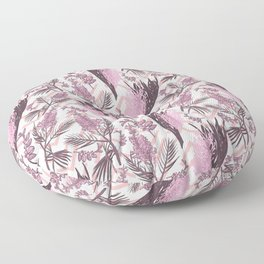 Australian Native Flowers - Pink Fashion Pattern Floor Pillow