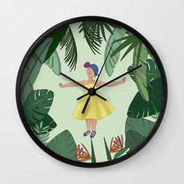 Jungle rhythms Wall Clock