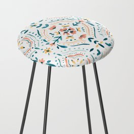 Moroccan Tiles Counter Stool