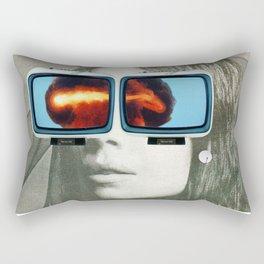 Atom Head Mother 2 Rectangular Pillow