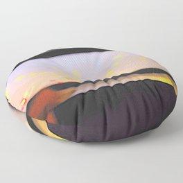 double-decker window Floor Pillow
