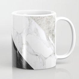 Contemporary Marble Stone Rays Coffee Mug