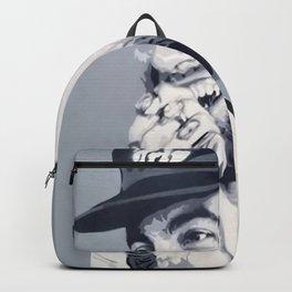 Mac Miller Spray Painting Backpack