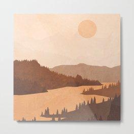 Deep River Country Metal Print