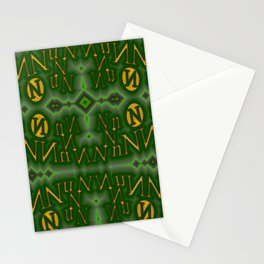 Nn - pattern 1 Stationery Cards