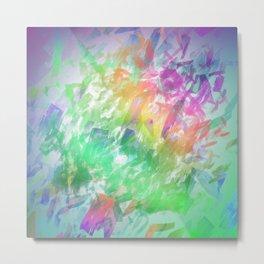 Shattered Rainbow Metal Print