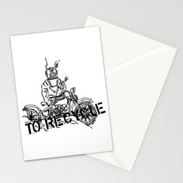 Scaphandrier (nono) Stationery Cards