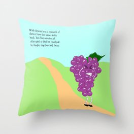 nature's brutality. Throw Pillow