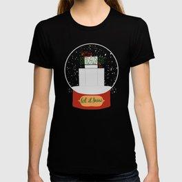 Christmas in Saginaw - Jack Rabbit Beans T-shirt