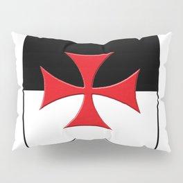 Knights Templar Battle Flag ...Roman Catholic Church Pillow Sham