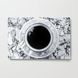 Obsidian Peace Metal Print