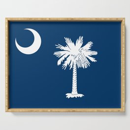 Flag of South Carolina Serving Tray