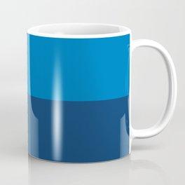 Half-and-Half in Blue and Navy Coffee Mug