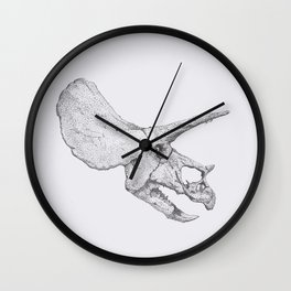 Skull of a Dinosaur Wall Clock