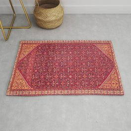Malayer West Persian Rug Print Rug