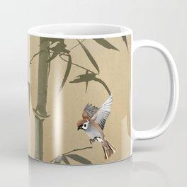 Sparrows And Bamboo Coffee Mug