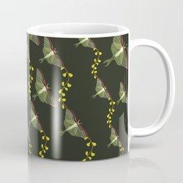 Midnight Luna Moth Flight Coffee Mug
