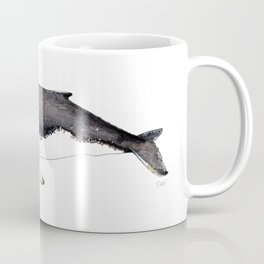 North Atlantic Humpback whale with calf Coffee Mug