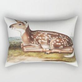 Deer drawing Rectangular Pillow