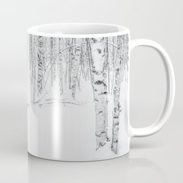 Swedish Birch Trees Coffee Mug