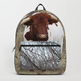 Longhorn Cattle Backpack