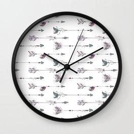 Boho Arrows Set 2 Wall Clock