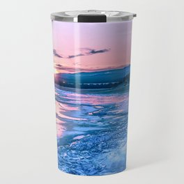 Baikal sunrise Travel Mug