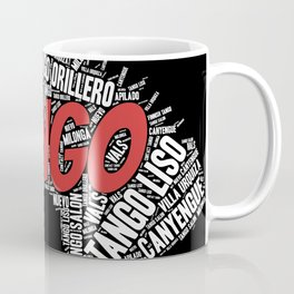 Tango Styles Word Art Coffee Mug