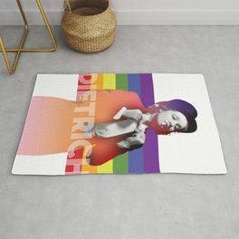 Rainbow Marlene Dietrich Rug