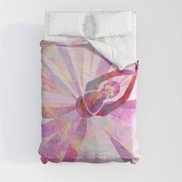 Sleeping Ballerina Floral Comforters