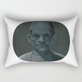 The Mummy on vinyl record print Rectangular Pillow