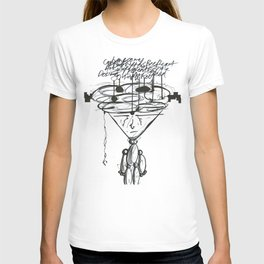 Thought Puppeteer WHT T-shirt