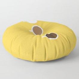 Coffee + Simplicity Floor Pillow