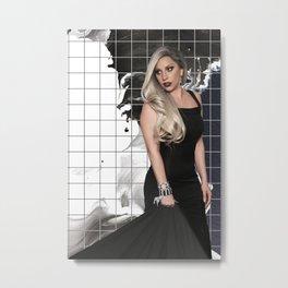 Grids   Metal Print