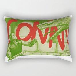 Conan! Rectangular Pillow