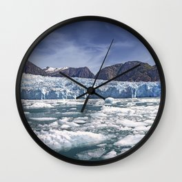 LeConte Glacier. Wall Clock