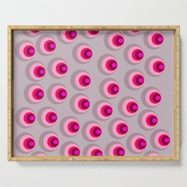 Circles eyes Serving Tray
