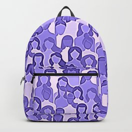 Together Strong - Women Power Purple Backpack