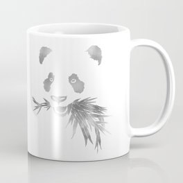 Panda Bear & Bamboo - Silver Coffee Mug