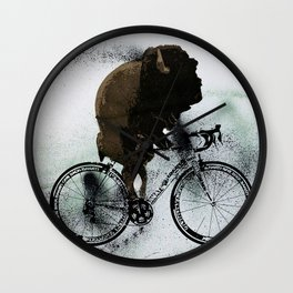 BUFF RIDER Wall Clock