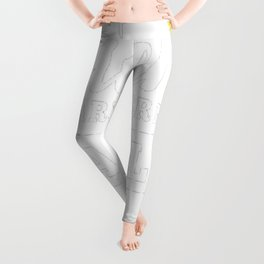 Queens-are-born-in-April-1 Leggings