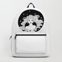Girl Dark Unicorn Backpack
