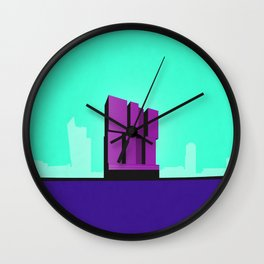 De Rotterdam Koolhaas Architecture Wall Clock