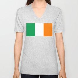 Irish flag of Ireland Unisex V-Neck