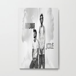 J Cole And Kendrick Lamar Metal Print