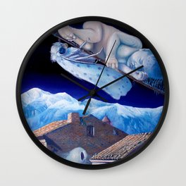 Reminiscence of the six layers Wall Clock