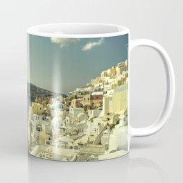 Santorini Seascape Coffee Mug