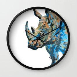 Rhino! Wall Clock